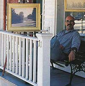 Gordon Haas at his Lambertville gallery. Image courtesy of the artist.