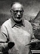 Joseph Crilley. Photograph by Jack Rosen, 1996. Image courtesy of the artist. James A. Michener Art Museum archives.