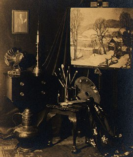 Studio of Fern I. Coppedge, n.d. Image courtesy of the James A. Michener Art Museum archives.