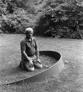 Richard Kemble. Photograph by Wyane Aaronson, 1978. The Nancy Hellebrand Project, Bucks County Community College.