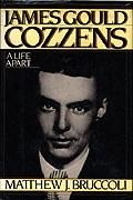 James Gould Cozzens (1903-1978), book cover for <em>A Life Apart</em>, by Matthew J. Bruccoli. Harcourt, Brace, Jovanovich, New York, 1983.
