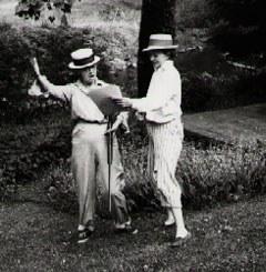 Josephine Herbst and Jean Garrigue, Erwinna, 1957. Photograph by Gabriele Wunderlich. Image courtesy of Elinor Langer.