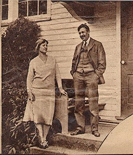 At Home with Margaret Spencer and Robert Spencer, unidentified newspaper, n.d. Image courtesy of the Michener Art Museum archives.