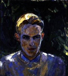 Faye Swengel Badura (1904-1991), <em>Bill.</em> Image courtesy James A. Michener Art Museum archives.