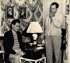 George S. Kaufman and Moss Hart. Photograph by Maynard Clark. James A. Michener Art Museum. Gift of Philip A. and Dianna T. Betsch.