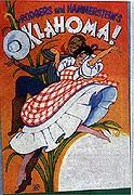 Theater poster for <em>Oklahoma!</em>. <em>The Intelligencer</em>, April 24, 1992. James A. Michener Art Museum archives.