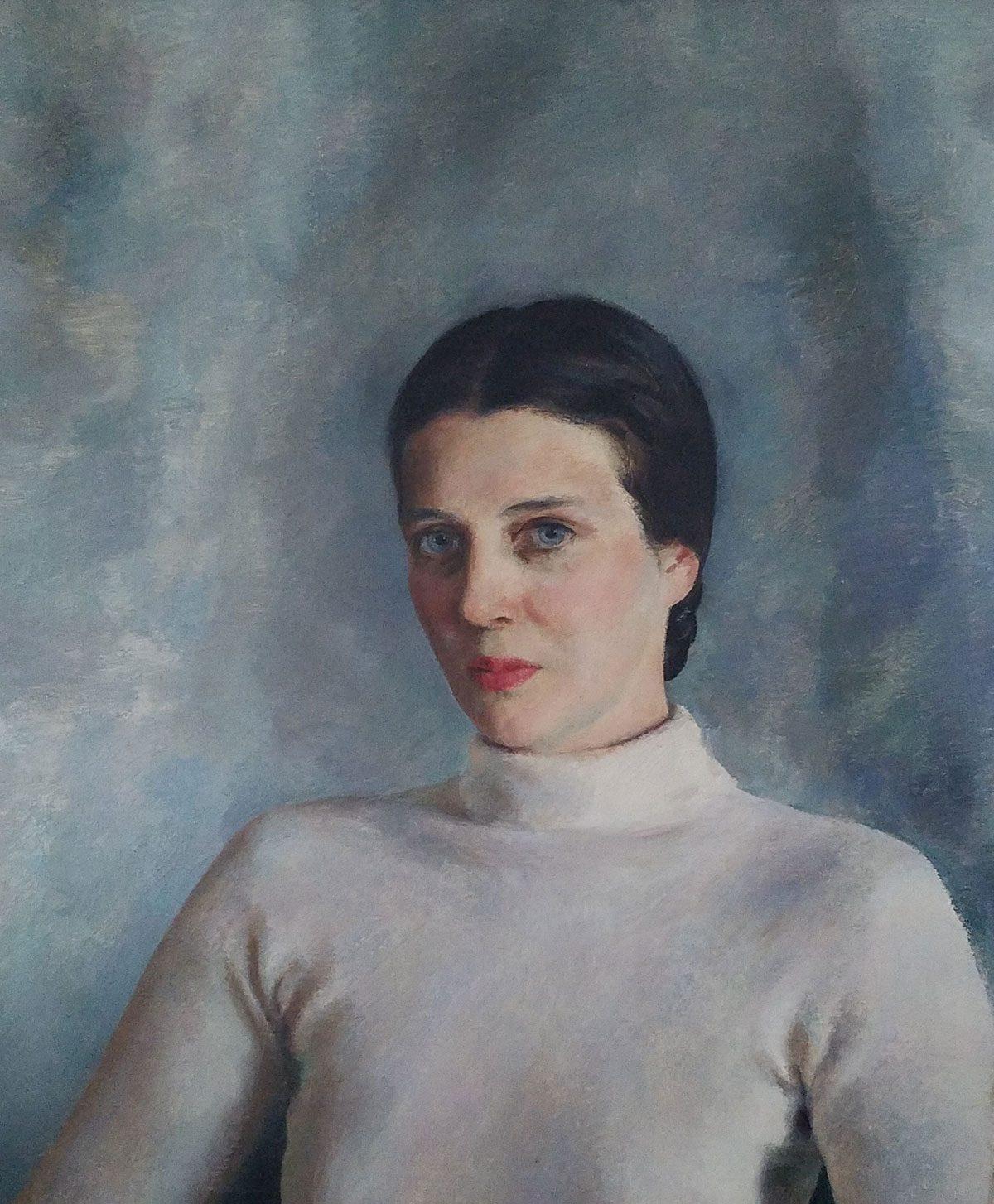 <p>Henriette Wyeth, <em>Portrait of Jere Knight. </em>Image courtesy of Jeff Lindtner.</p>