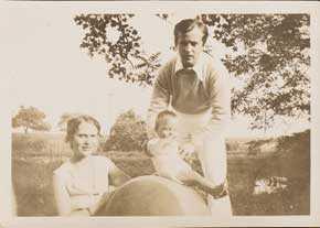 R.A.D., Celia, and Shaun Miller, ca. 1931. Courtesy of Darragh Ellerson.