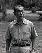 <p>Photograph of George Nakashima by Jack Rosen, 1980s. Courtesy of the James A. Michener Art Museum.</p>