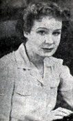 Photograph of Shirley Booth from the playbill <em>Apple of His Eye</em>, Bucks County Playhouse, 1947. Image courtesy of the Spruance Collection of the Bucks County Historical Society.