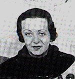 Laura Perelman, passport picture, 1934. Image courtesy of Dorothy Herrmann.