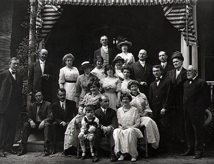 Unidentified Photographer, <em>Marriage of Mary Smyth Perkins and William Taylor</em>, 1913. Collection of E. Stanley Cope, M.D.