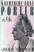 Book-cover of <em>Katherine Anne Porter: A Life</em>, by Joan Givner. Simon and Schuster, New York, 1982.