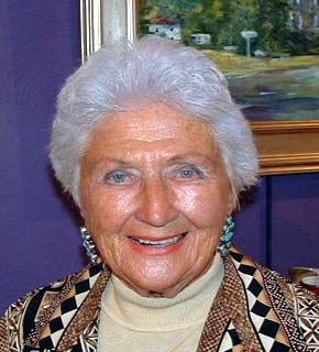 Evelyn Faherty, 2004. Image courtesy of the artist. James A. Michener Art Museum archives.