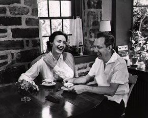 Margaret Mullen Root and John Root. <em>Bucks County Traveler</em>, July 1957.