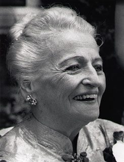 Pearl S. Buck on her 80th Birthday. Photo by Jack Rosen. Image courtesy of the James A. Michener Art Museum.