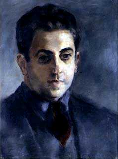 Leon Karp, <em>Portrait of Harry Rosin</em>, n.d. James A. Michener Art Museum archives.