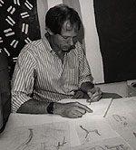 Photograph of Jeffrey Greene. Image courtesy of the <em>New Hope Gazette</em> archives.