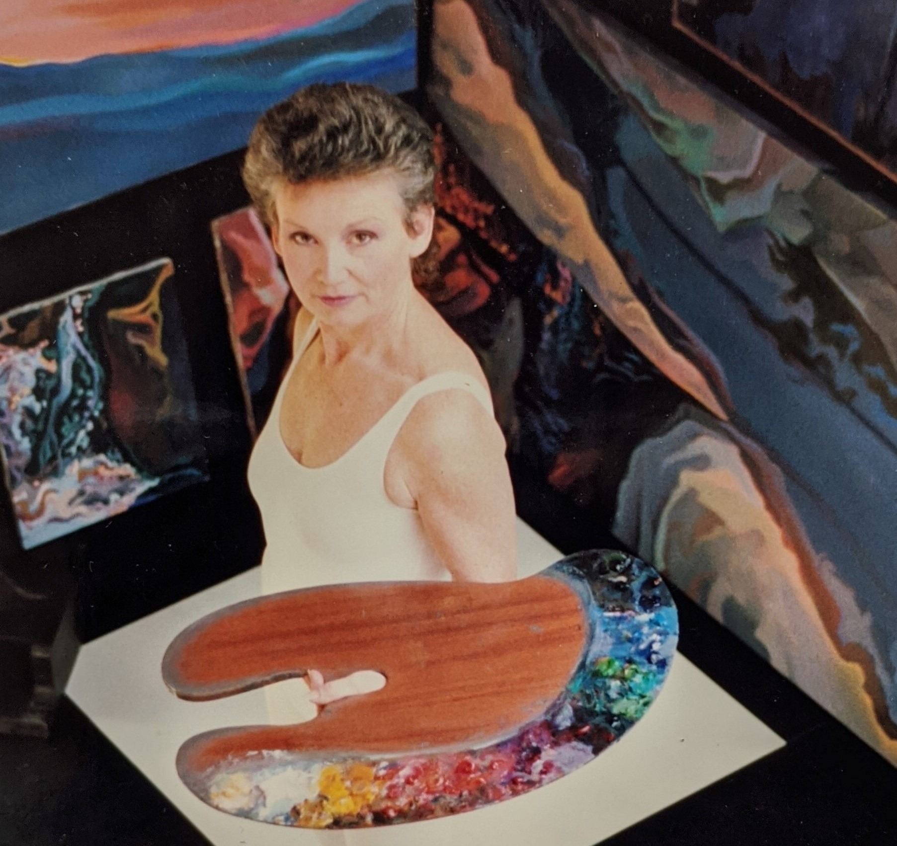 <p>Barbara Postel. Image courtesy of the artist.</p>