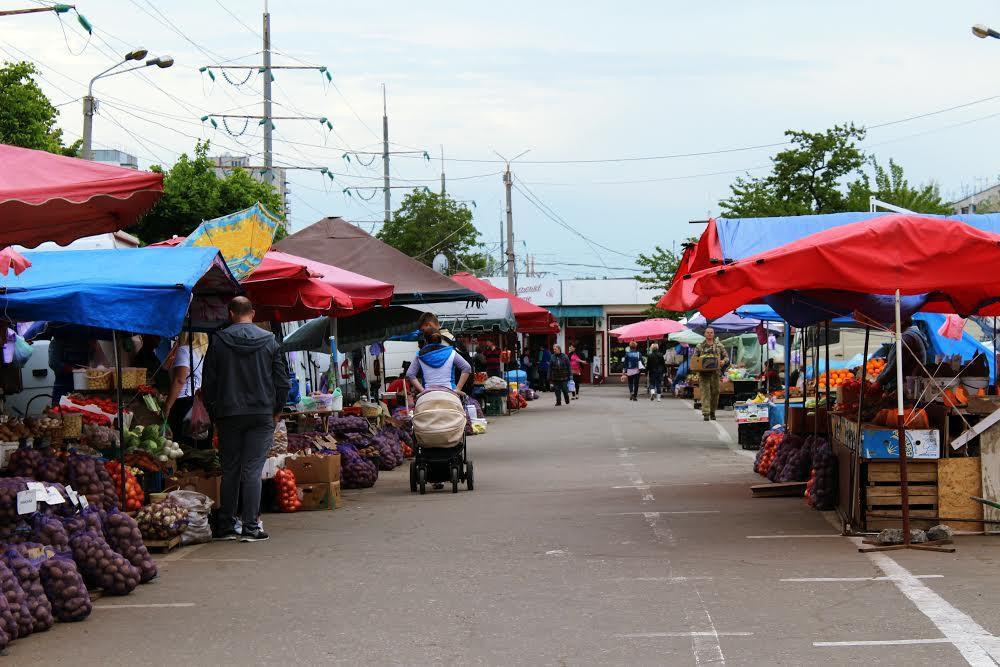 Киевский рынок в Одессе