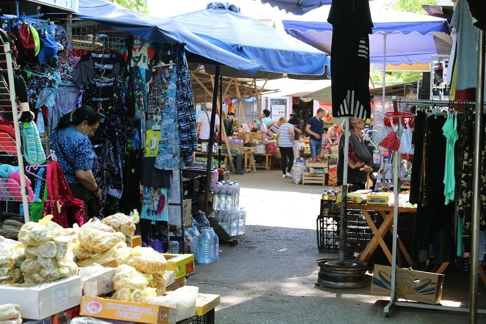 Рынок Слободка в Одессе