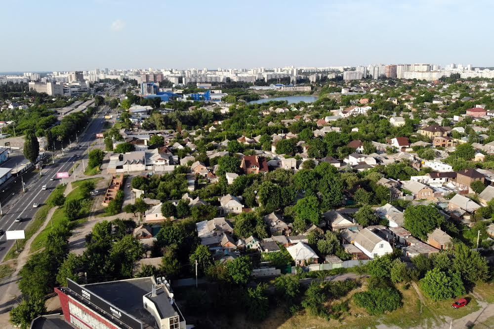 Старая Салтовка в Харькове