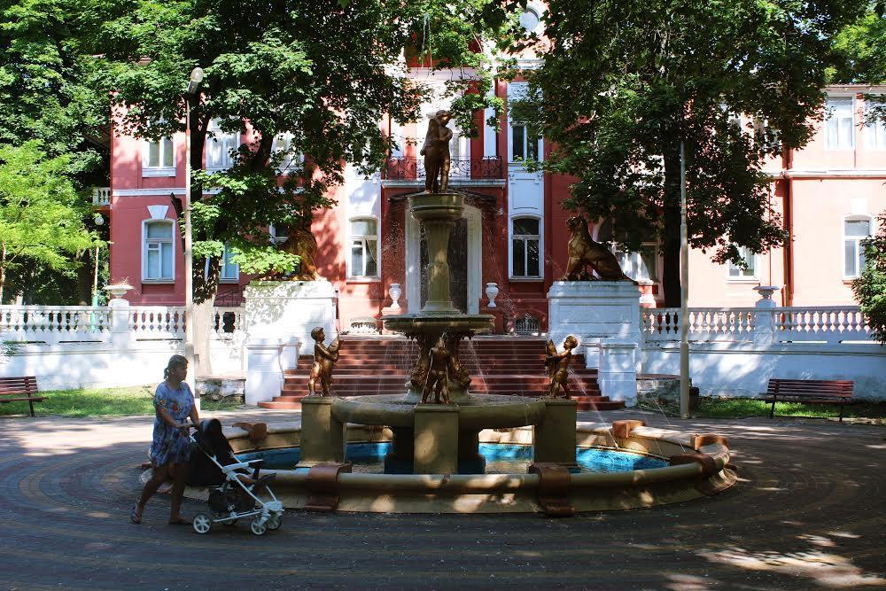 Фонтан в Одесса на Большом Фонтане
