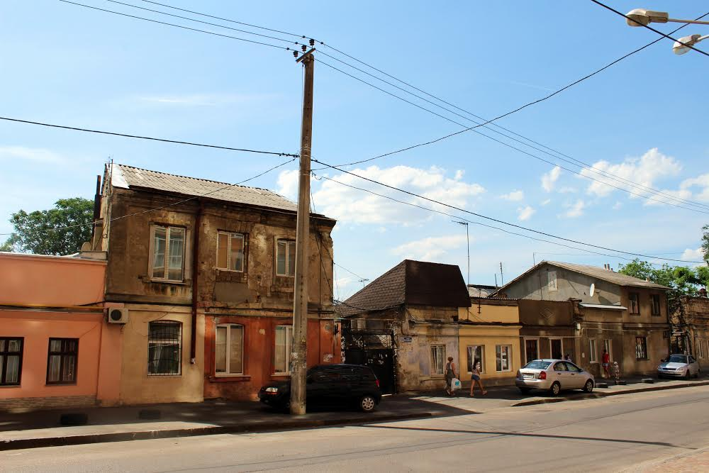 Исторические улицы Молдованки