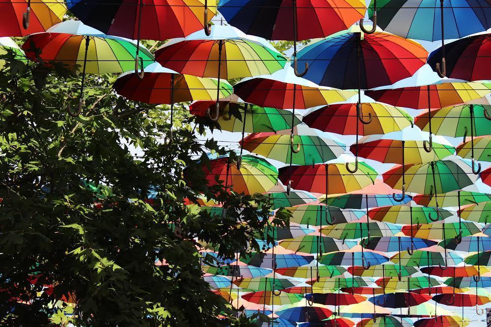 Аллея зонтиков Аркадия
