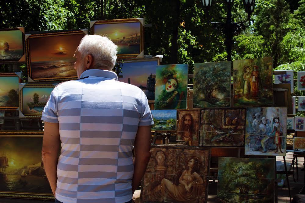 На улицах Одессы