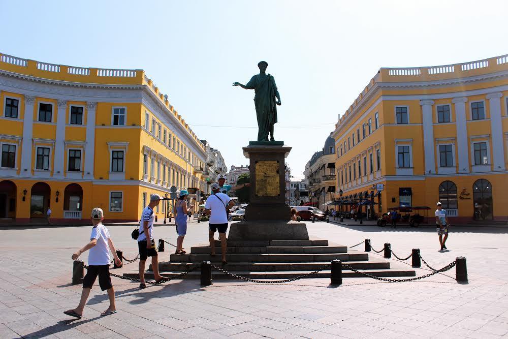 Памятник Дюку де Ришелье Одесса