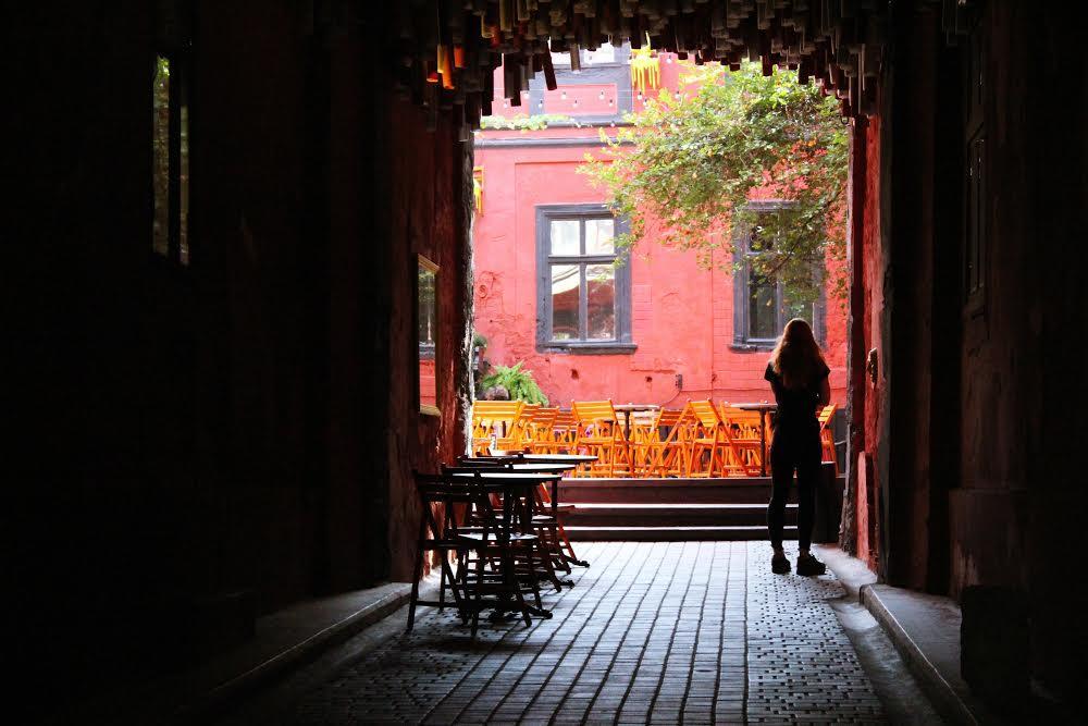 Уютное кафе в Центральном районе Одессы