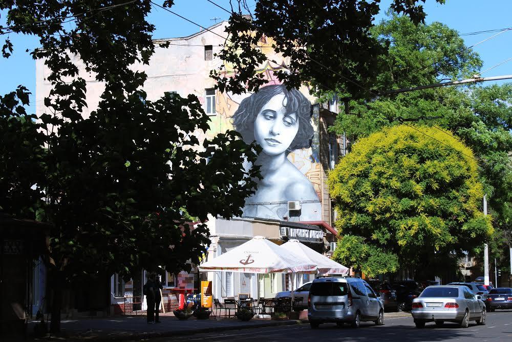Мурал в Одессе