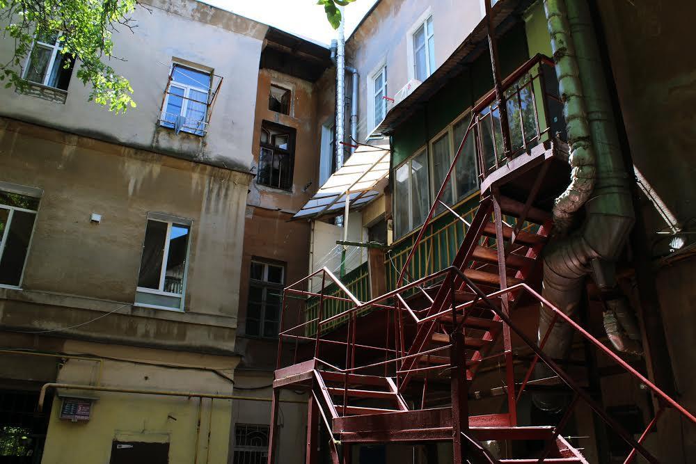 Исторические дворики в центе Одессы