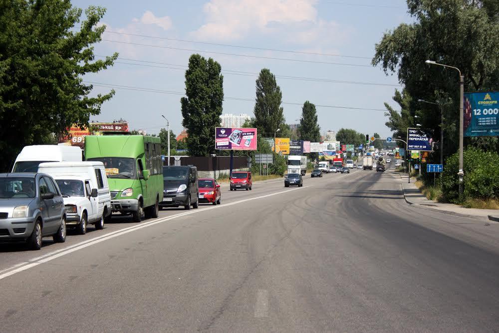 Транспорт Софіївська Борщагівка