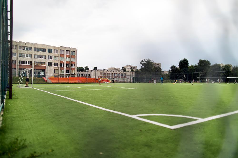 Футбольное поле Левандовка