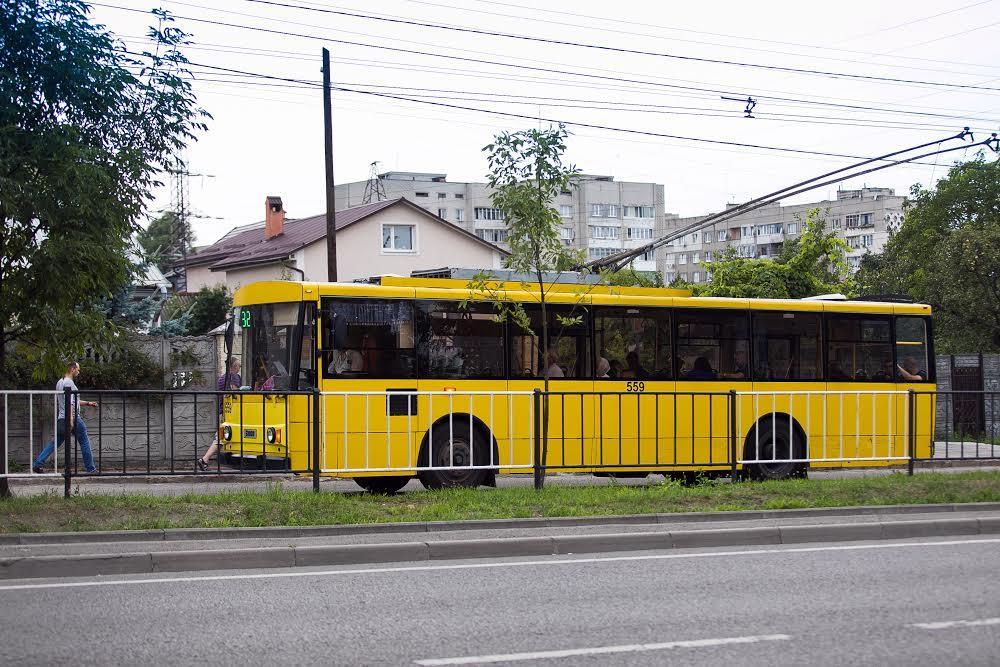 Транспорт во Львове Левандовка
