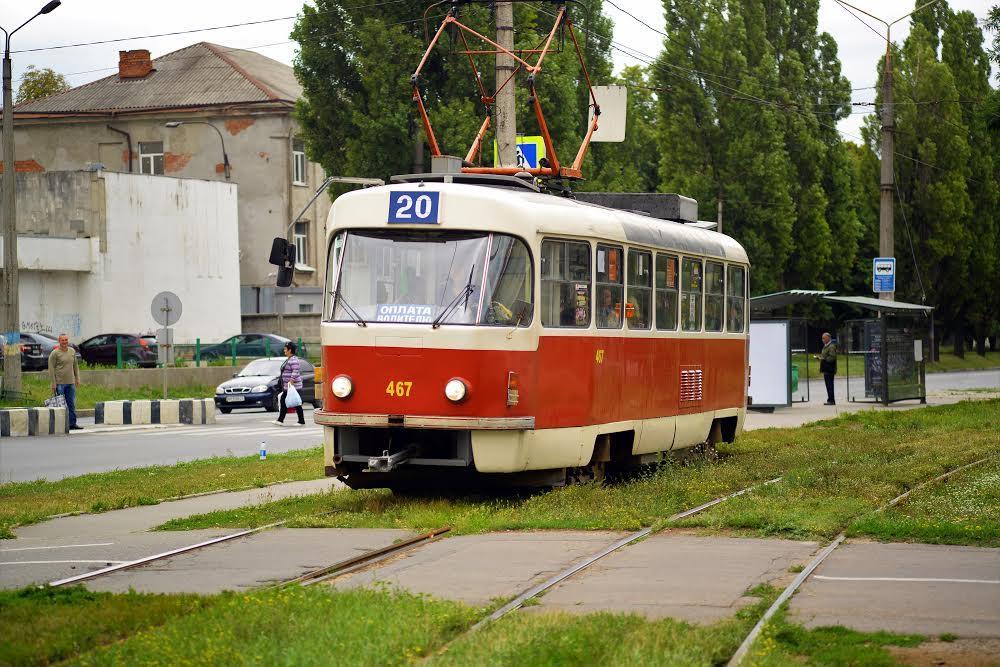 Трамвай на Павлівці