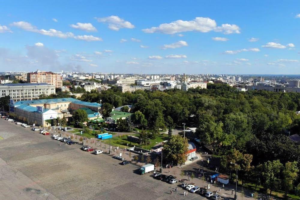 Площадь Свободы микрорайон Нагорный