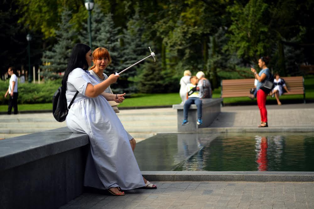 Городской парк в Нагорном