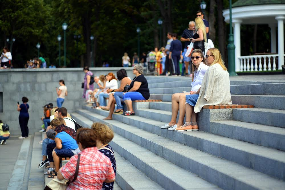 Парк «Молодіжній» Нагорный Харьков