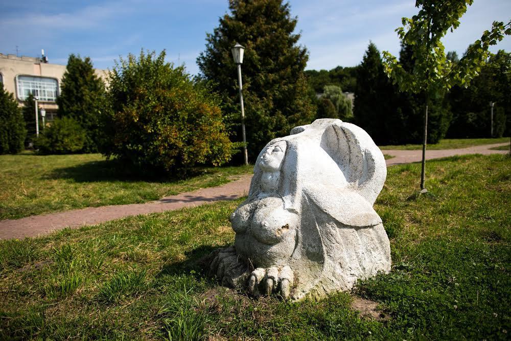 Мистическая скульптура Погулянка