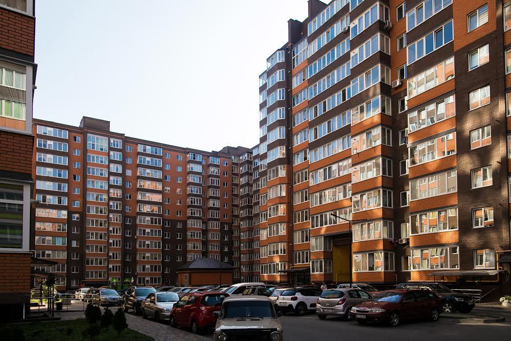 Современный район Львова Научная