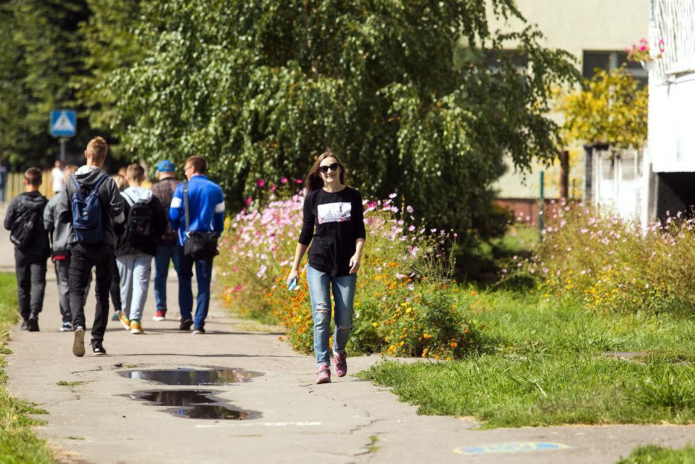 На улицах Замарстынова