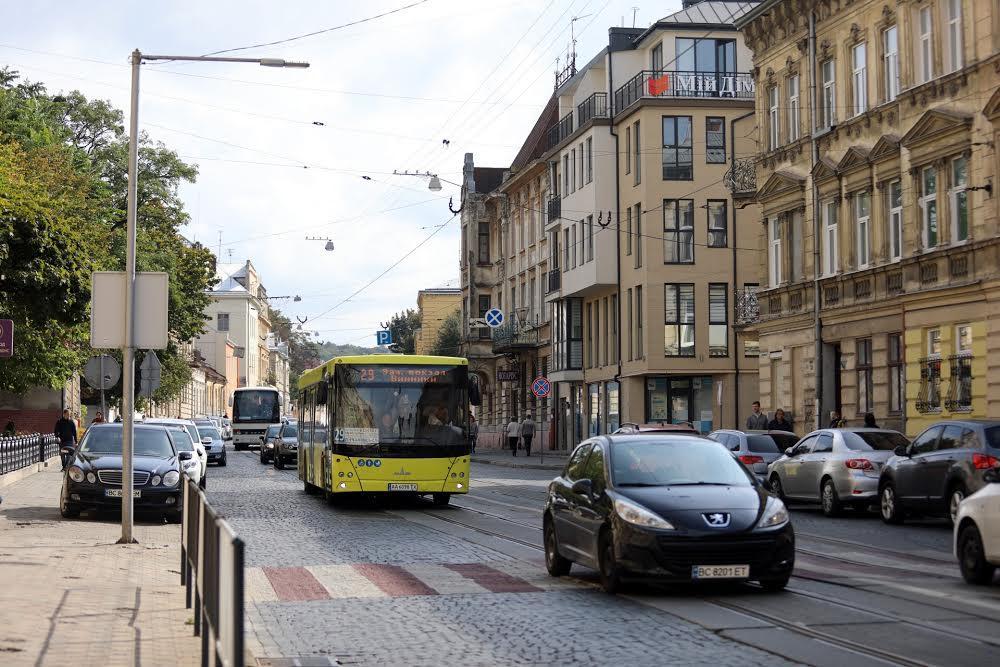 Улица Лычаковская Львов