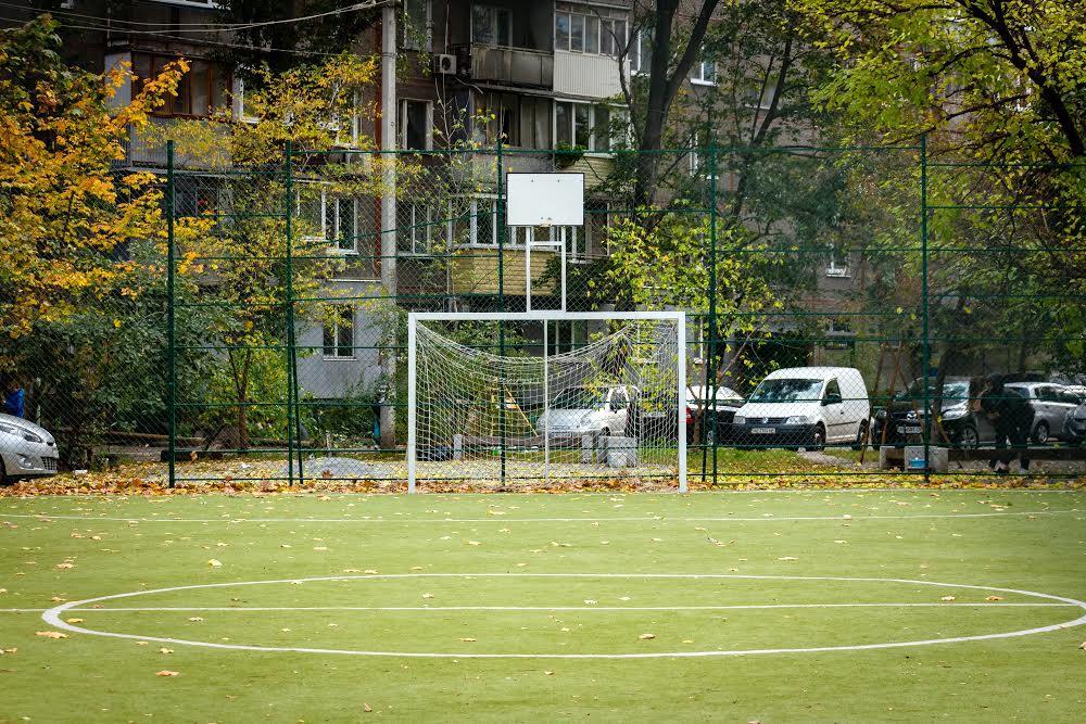 Футбольне поле масив Перемого