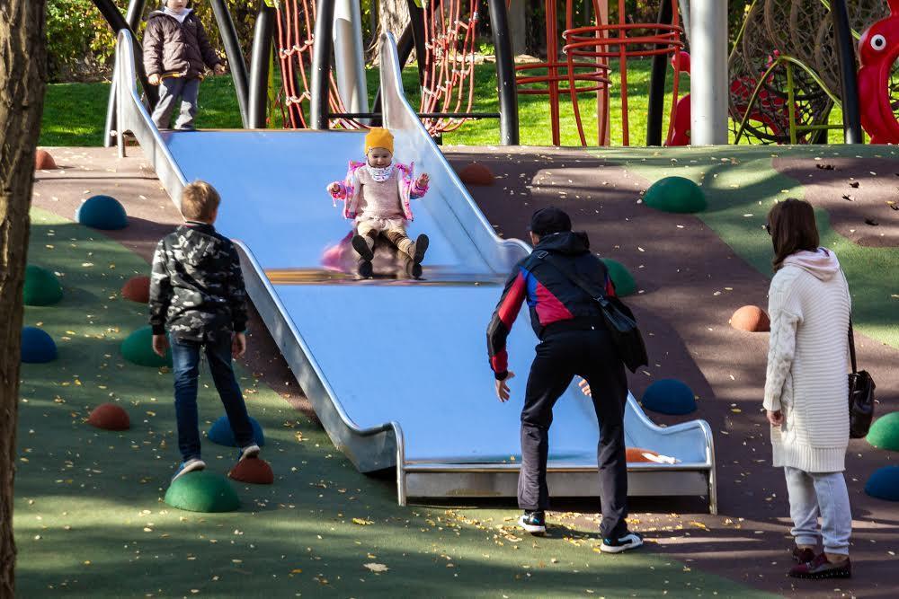 Парк на массиве Титова