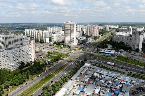 район Алексеевка с высоты птичего полёта