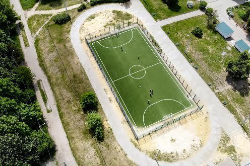 Футбольное поле на Алексеевке