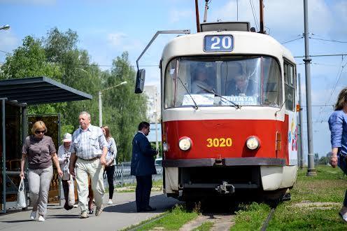 Трамвайная остановка Алексеевка